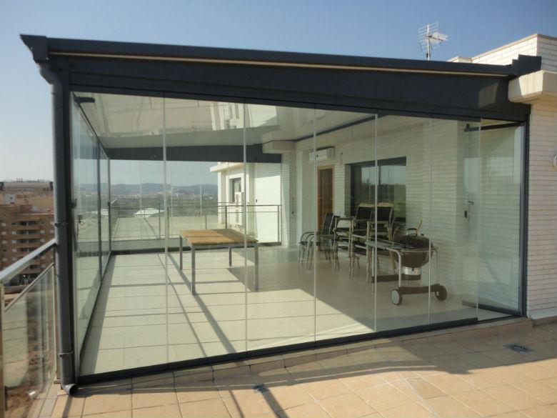Cerramientos de terrazas en valencia cerrajeros valencia - Cerramientos de terraza ...