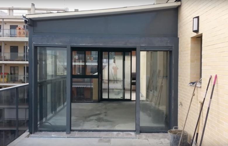 Cerramientos aluminio de terrazas
