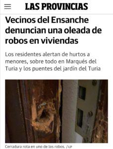 robos en valencia