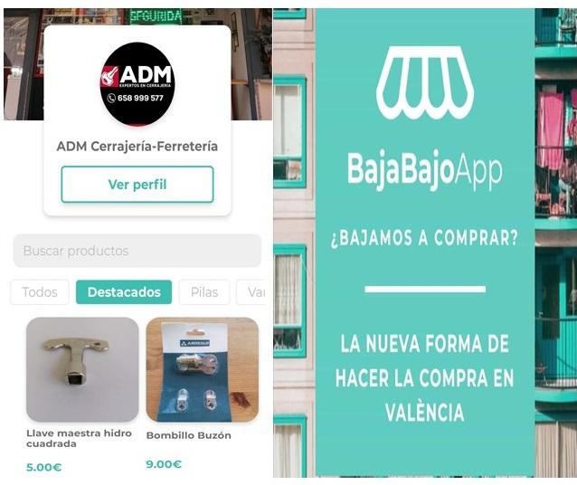 cerrajeria compra online app bajabajo